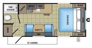Fretz Jayco 2 Floorplan