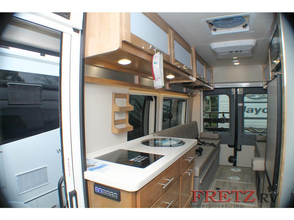 Fretz Coachmen Crossfit class B motorhome interior