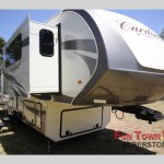 The Forest River Cardinal fifth wheel.