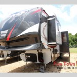 Check out the Vengeance fifth wheel toy hauler!