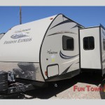 The Coachmen Freedom Express travel trailer.