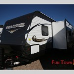 The Heartland Trail Runner travel trailer.