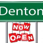 New Denton Location!