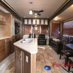 Forest River Wildwood DLX 426-2B Destination Trailer Interior