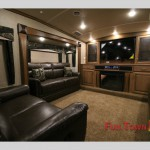 Forest River Cedar Creek Hathaway Edition 38FL6 Fifth Wheel Living Room