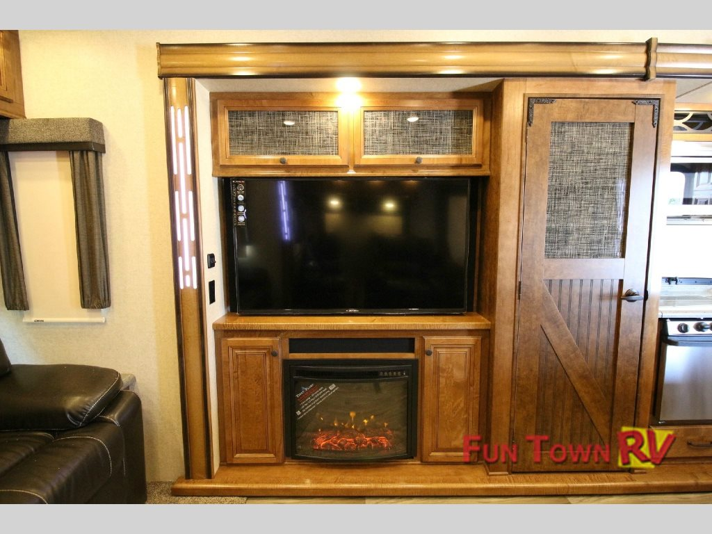 South Fork Lawton Fifth Wheel Fireplace
