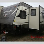Heartland Trail Runner Toy Hauler Travel Trailer