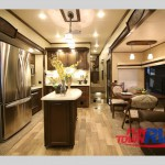 Palomino Columbus Fifth Wheel Kitchen 376RL