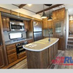 Cruiser South Fork Cameron Fifth Wheel Kitchen
