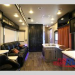 Cruiser Boss 4290 Fifth Wheel Toy Hauler Interior