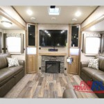 Forest River Signature Ultra- Lite Fifth Wheel Living Area