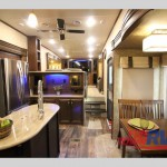Forest River Sandpiper 377FLIK Fifth Wheel Interior