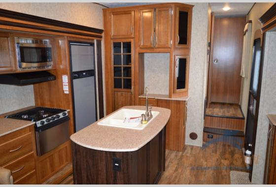 Prime Time Crusader Lite Fifth Wheel Kitchen