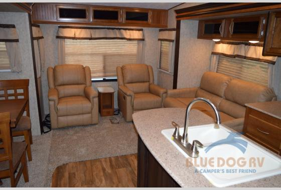 Prime Time Crusader Lite Fifth Wheel Living Area