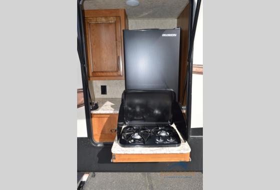 Prime Time Crusader Lite Fifth Wheel Outside Kitchen