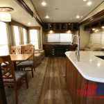 Forest River Black Diamond Fifth Wheel Living Area