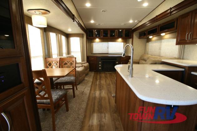 Forest River Black Diamond Fifth Wheel Living Area