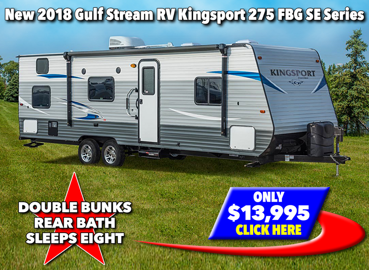 Gulf Stream Kingsport Travel Trailers