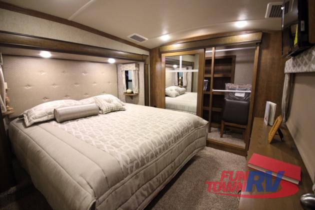 Forest River Cedar Creek Hathaway Edition Fifth Wheel Bedroom