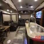 Forest River Cedar Creek Hathaway Edition Fifth Wheel Living Area