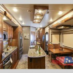 Heartland Landmark 365 Fifth Wheel Kitchen