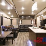 Forest River Cedar Creek Silverback Fifth Wheel Interior