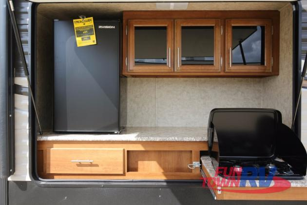 Prime Time Avenger Travel Trailer Outdoor Kitchen