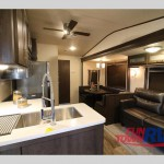 Forest River Wildwod DLX Destination Trailer Interior
