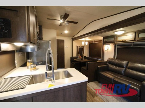Wildwood DLX Destination Trailer Interior
