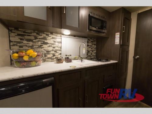 Wildwood SFX 207BH Travel Trailer Kitchen