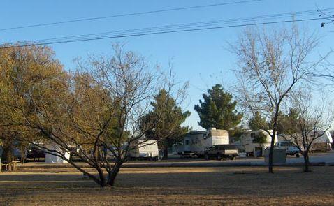 Texas RV Park of Big Spring Sites
