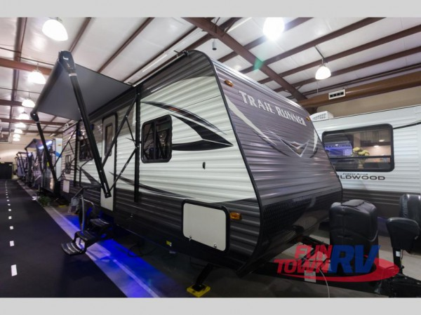 Trail Runner bunkhouse travel trailer