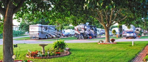 Fredericksburg RV Park Sites