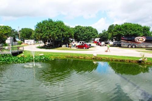 Fredericksburg RV Park Pond
