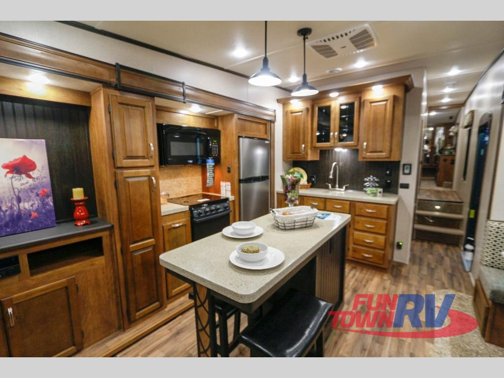2019 Coachmen RV Chaparral 360IBL kitchen