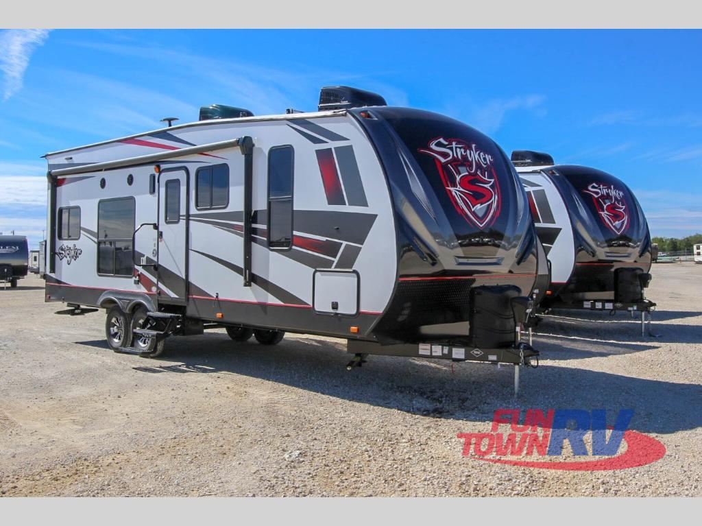 stryker toy hauler travel trailer