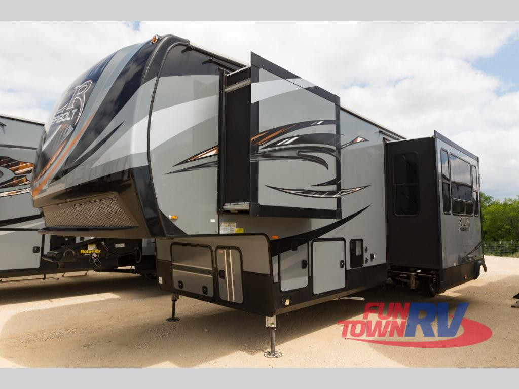 2018 Forest River RV XLR Thunderbolt 341AMP