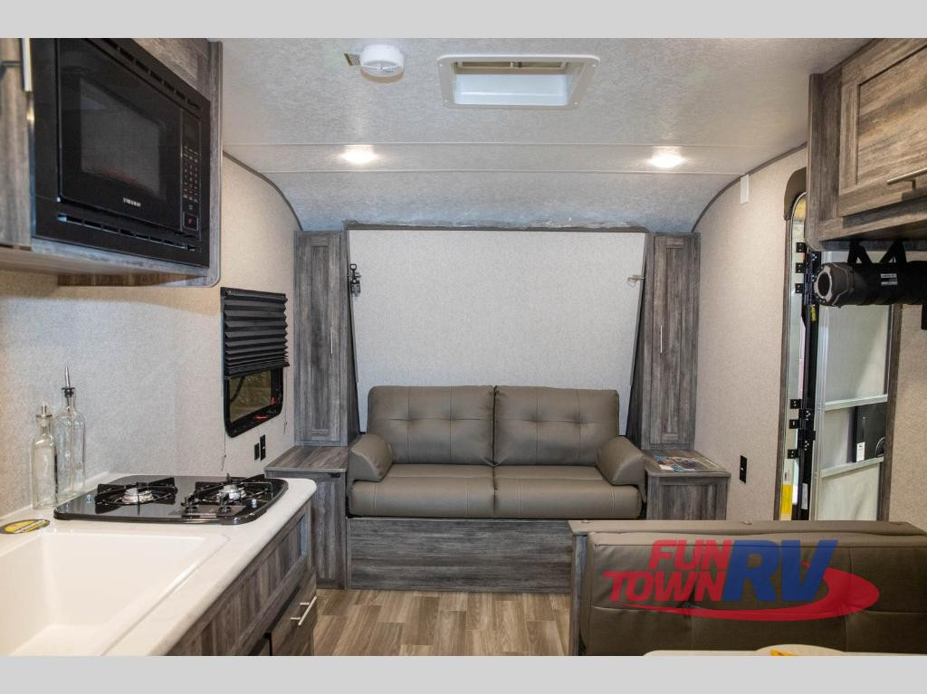 living room New 2020 Forest River RV Wildwood FSX 167RB