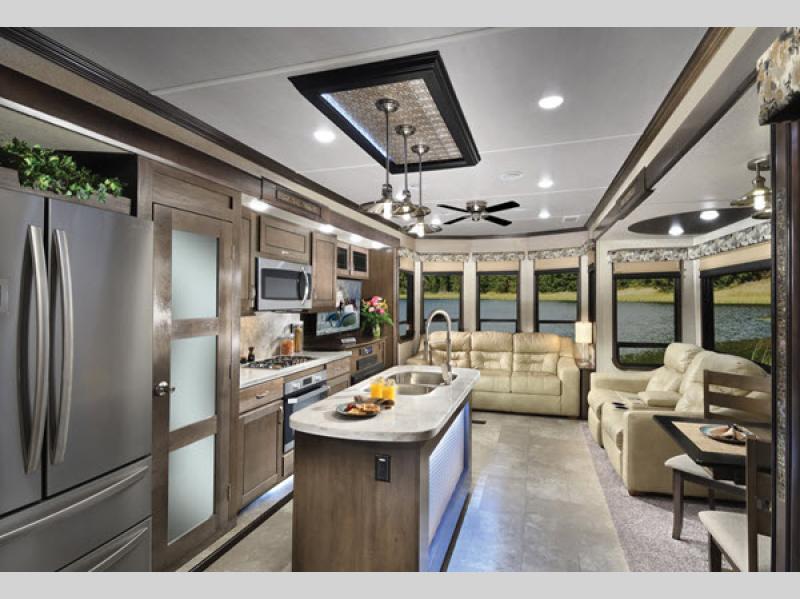 cedar creek cottage review kitchen