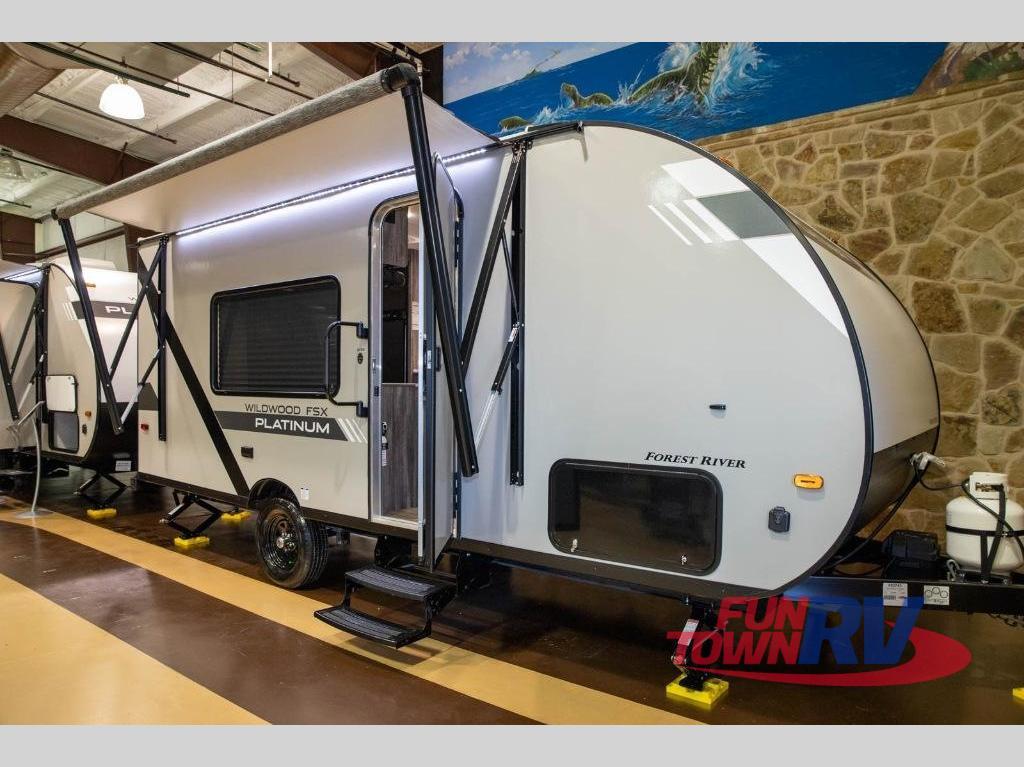 2020 Forest River RV Wildwood FSX 167RBX