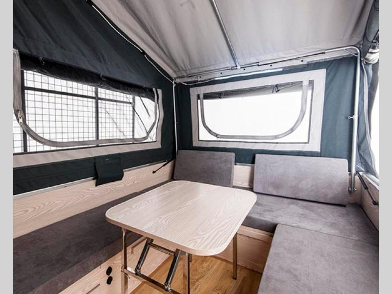 black series camper interior