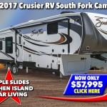 Cruiser RV South Fork Cameron Fifth Wheel