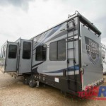 Heartland Road Warrior 362 Fifth Wheel Toy Hauler Double Slideout
