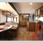 Forest River Wildwood Travel Trailer Living Area