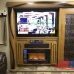 Forest River Cedar Creek Hathaway Edition Fifth Wheel Fireplace