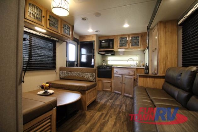 Coachmen Freedom Express Travel Trailer Rear Kitchen