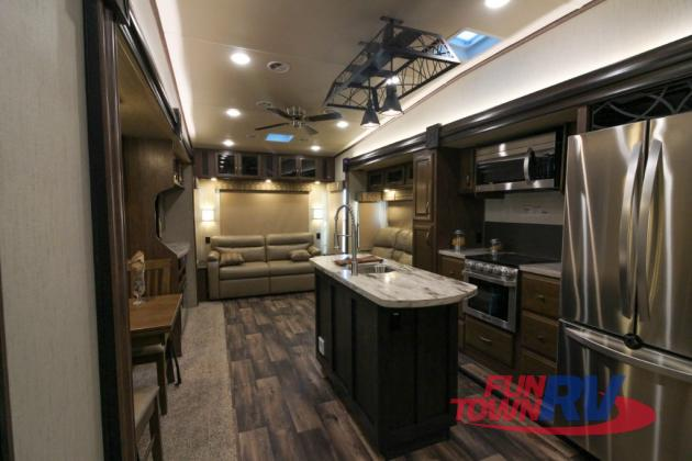 Forest River Sandpiper Fifth Wheel Interior