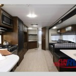 Primetime Avenger travel trailer Interior