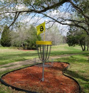 Nine-Hole Disc Golf