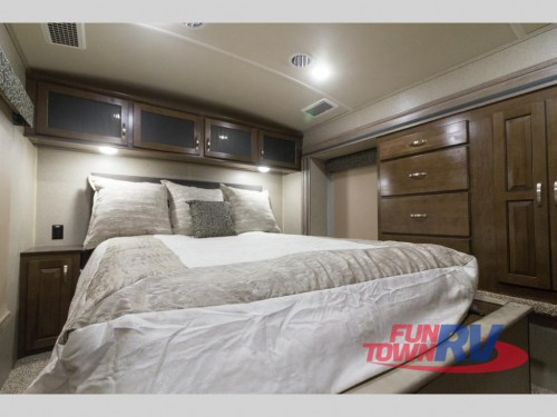 Cedar Creek Silverback 37RTH Toy Hauler Bedroom